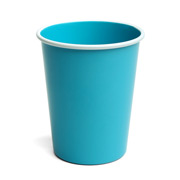 Retro Kitchen - Alfresco Cup Blue with White Trim