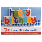 Tala - Happy Birthday Candle