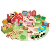 EverEarth - Organic Farm Playset With Bag 53pce
