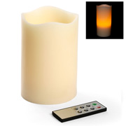 RSC - Extra Large Ivory Pillar Candle