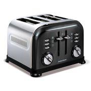 Morphy Richards - Accents Toaster Polished Black 4 Slice