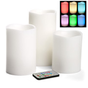 RSC - White Rainbow Candle Gift Set 3pce