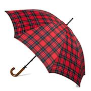 Clifton - Gents' Fibreglass Red Royal Stewart Umbrella