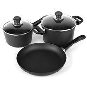 Scanpan - Classic 3 Piece Cookware Set C
