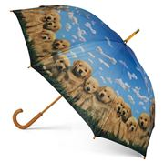 Artbrella - Golden Pups Umbrella