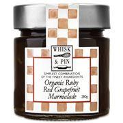 Whisk & Pin - Organic Ruby Red Grapefruit Marmalade 280g