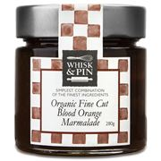 Whisk & Pin - Organic Fine Cut Blood Orange Marmalade 280g