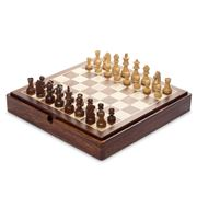 Italfama - Wooden Magnetic Complete Chess Set
