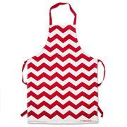 AT - Red Chevron Apron