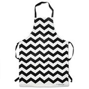 Annabel Trends - Black Chevron Apron