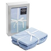 Creswick - Blue Bamboo Cot Blanket