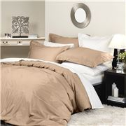 Private Collection - Supima Quilt Cover Set King Latte