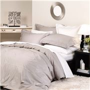 Private Collection - Supima Cotton Silver King Quilt Set