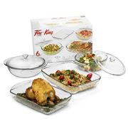 Anchor - Fire King Bakeware Set 6pce
