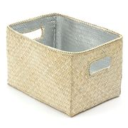 Citta Design - Silver Lined Rectangular Storage Box 24x18cm