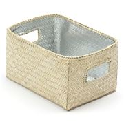 Citta Design - Silver Lined Rectangular Storage Box 21x15cm