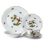 Herend - Rothschild Bird Place Setting 6pce