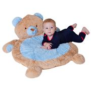 Fuzzy Factory - Blue Bear Luxurious Baby Rug