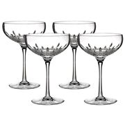 Waterford - Lismore Essence Champagne Saucers Set 4pce