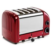 Dualit - Apple Candy Red 4 Slice Toaster