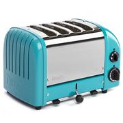 Dualit - Turquoise 4 Slice Toaster