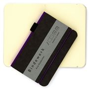 Bindewerk - Contemporary Notebook Blank Violet Small