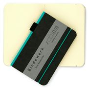 Bindewerk - Contemporary Small Turquoise Notebook