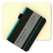 Bindewerk - Contemporary Small Turquoise Notebook