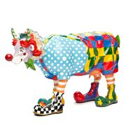 Art In The City - Charlie The Clown Cow