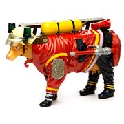 Art In The City - Firefighter Cow