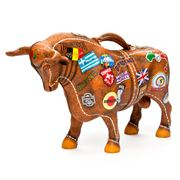 Art In The City - Bon Voyage Bull