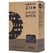 Mount Zero - Beluga Black Lentils 500g
