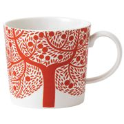 Royal Doulton - Fable Accent Red Tree Mug