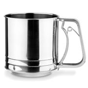 Chef Inox - Flour Sifter with Squeeze Handle 5 Cup