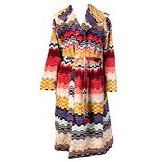 Missoni - Lara Warm Colours Hooded Bathrobe Large