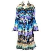 Missoni - Lara Cool Colours Bathrobe Extra Large