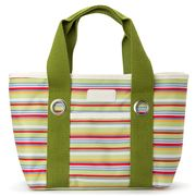 Sachi - Insulated Lunch Bag Green Stripe