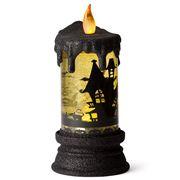 Raz Halloween - Battery Operated Candle Yellow