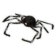 Raz Halloween - Small  Spider with Blinking Eyes Silver