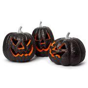 Raz Halloween - Black Jack O'Lantern Set 3pce
