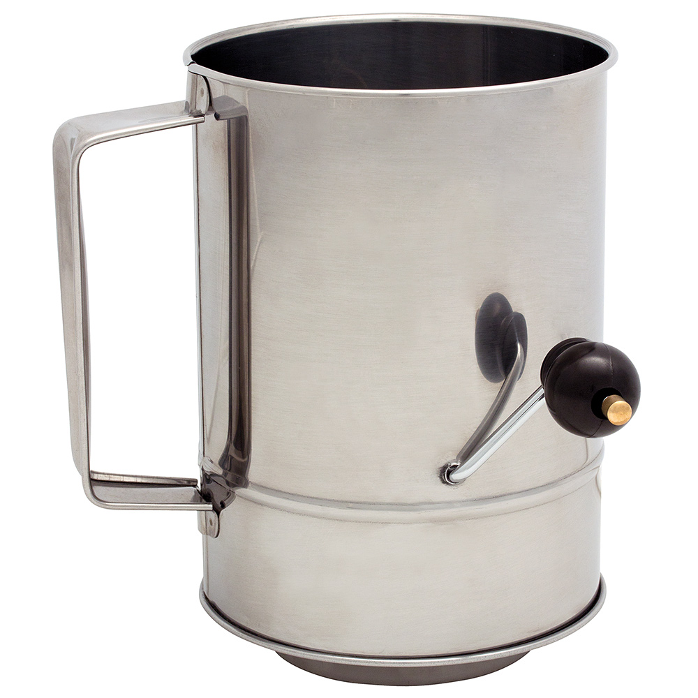 Cuisena Rotary Flour Sifter 5 Cup Peter S Of Kensington