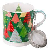 Ashdene - Christmas Tree Mug & Infuser