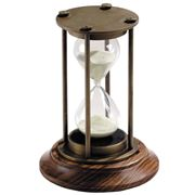 Authentic Models - Bronzed 30 Minute Hourglass