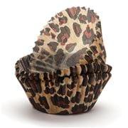 Regency - Baking Cups Leopard Print 40pce
