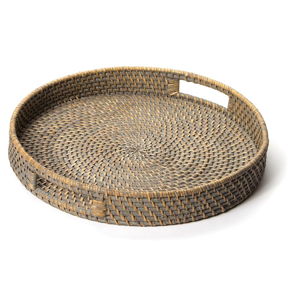 Rattan Round Tray 40cm