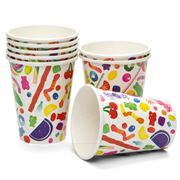 Dylan's Candy Bar - Paper Cup Set 8pce Candyspill