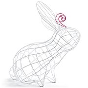 Seletti - Fantastico Domestico Rabbit Basket