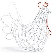 Seletti - Fantastico Domestico Hen Basket
