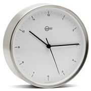 Barigo - White Wall-Mounted Clock