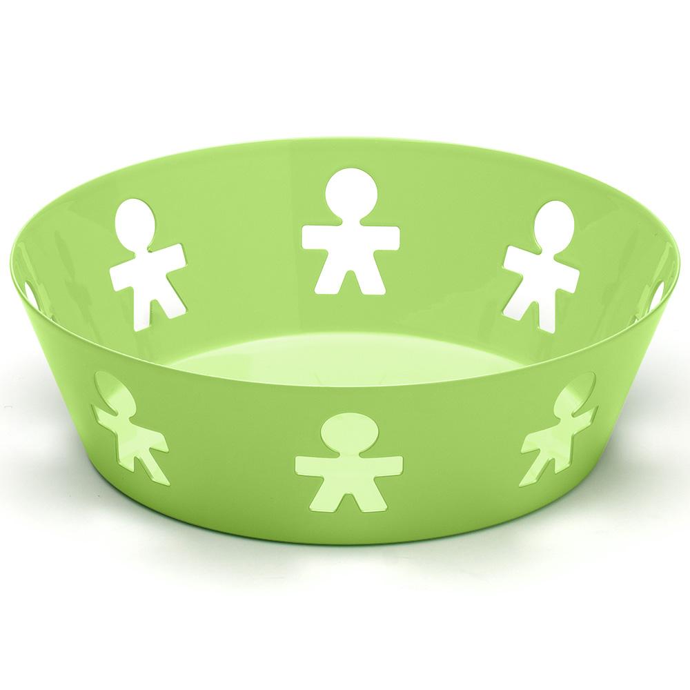 Alessi girotondo poplike small fruit bowl green - Alessi fruit bowl ...